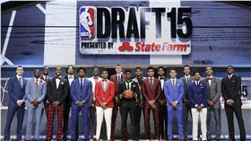 NBA選秀,新秀,2015梯(圖/美聯社/達志影像)