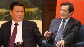 馬習會、總統馬英九、中國國家主席習近平(圖/總統府flickr、Xi Jinping flickr)