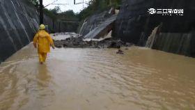 淹水台鐵停1200