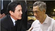 馬英九,李顯龍(組圖/翻攝馬英九總統、Lee Hsien Loong臉書)