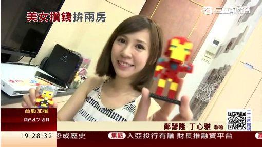 """電玩美女""""潔哥"""" 31歲坐擁汐止.桃園2房"""