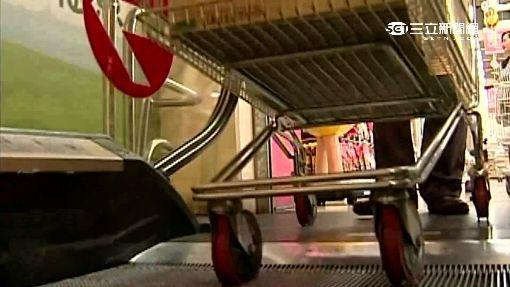 「賣場推車」暗藏危機 輪胎故障恐撞人