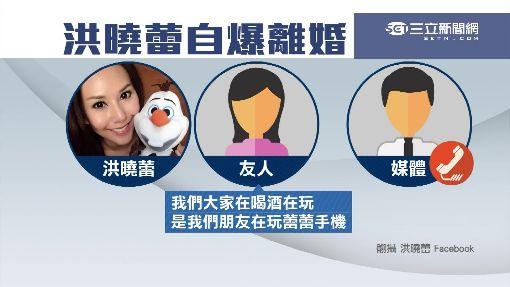 """臉書宣告""""我離婚了"""" 洪曉蕾酒醉否認"""