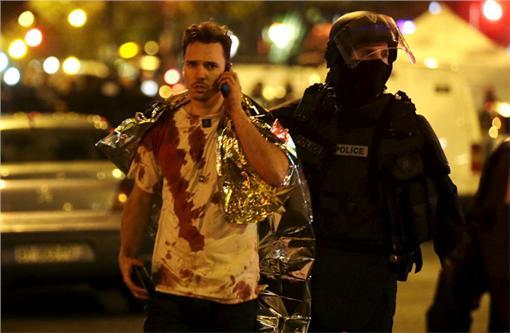 法國,巴黎,恐怖攻擊,槍擊,爆炸(圖/達志影像/路透社)