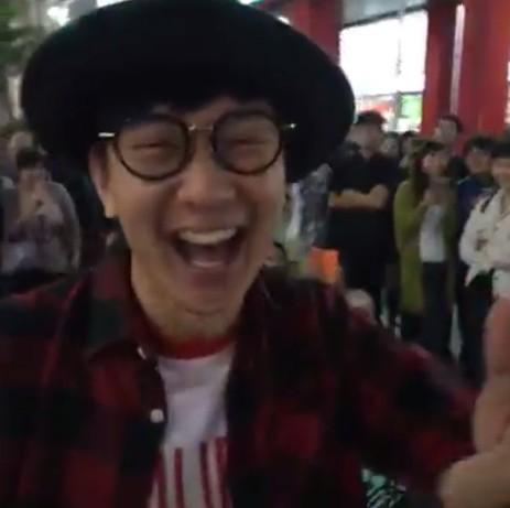 林俊傑信義區獻聲-翻攝自臉書