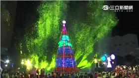 聖誕節,百貨公司,聖誕樹,點燈,雪花,冬天 圖/翻攝自YouTube