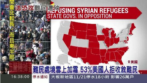 歐巴馬遭打臉! 美眾院暫緩敘難民計畫