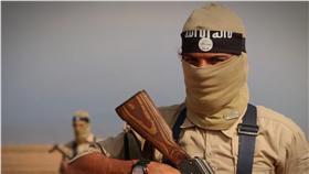 伊斯蘭國恐怖分子-圖/翻攝自美聯社/達志影像