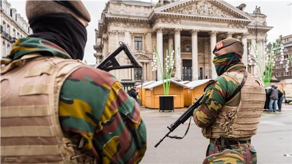 比利時提高反恐警戒(圖/美聯社/達志影像)