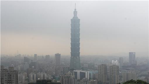 霾害,空氣汙染,PM2.5(圖/美聯社/達志影像)