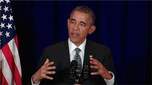 歐巴馬/翻攝自YouTube