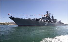 俄羅斯導彈巡洋艦「莫斯科號」(Moskva)_路透社