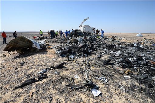 俄羅斯客機墜毀(圖/美聯社/達志影像)