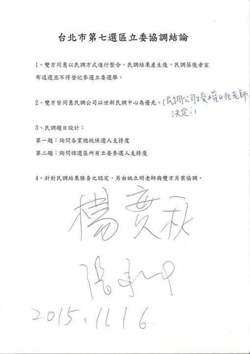 楊實秋、張承中(圖/翻攝自楊實秋臉書)