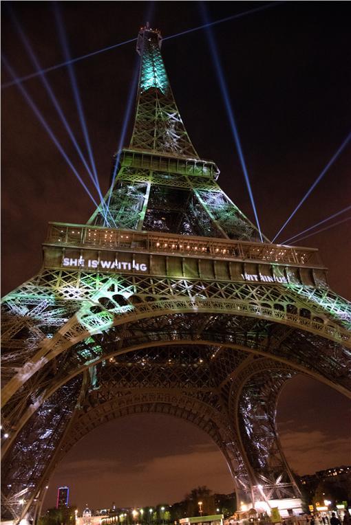 法國氣候峰會(圖/美聯社/達志影像)