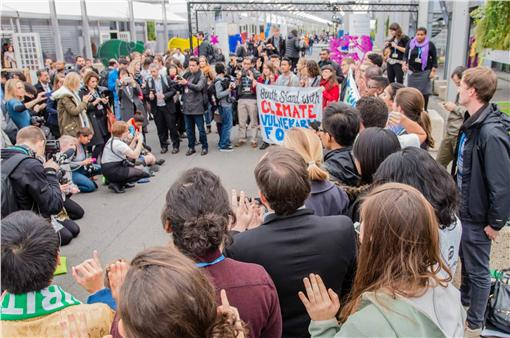 巴黎氣候峰會,COP21 圖/翻攝自台灣青年氣候聯盟臉書