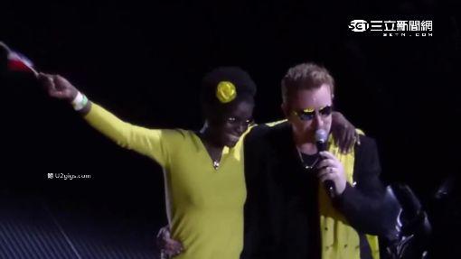 不畏恐攻! U2重返巴黎開唱.感動法國