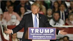 美國共和黨總統參選人、富豪、川普Donald Trump(圖/美聯社/達志影像)