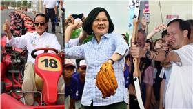 總統,候選人,蔡英文,朱立倫,宋楚瑜,皆翻攝自臉書