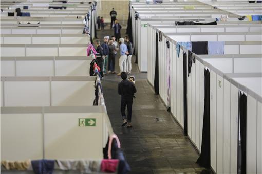德國,難民,收容所(圖/美聯社/達志影像)