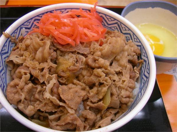 吉野家牛丼(圖/攝影者Hajime NAKANO, Flickr CC License)https://flic.kr/p/oNYxp