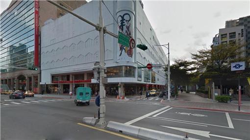捷運中山站-翻攝自Google Map