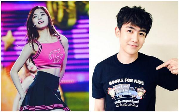 Nichkhun推特、周子瑜粉絲專頁、新浪娛樂
