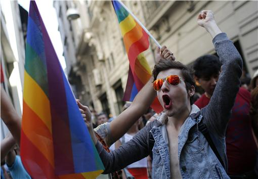 同性戀,gay,同志(圖/美聯社/達志影像)
