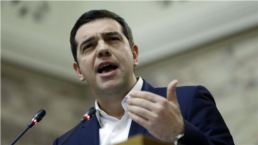 希臘總理齊普拉斯(Alexis Tsipras)(圖/美聯社/達志影像)