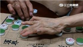 老人,下棋,首圖