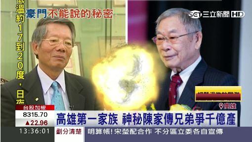 高雄第一家族 神秘陳家傳兄弟爭千億產