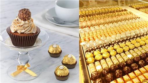 FERRERO費列羅、巧克力、甜點、甜食(圖/翻攝自FERRERO費列羅臉書)