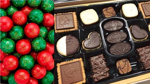 Godiva歌帝梵、巧克力、甜點、甜食(圖/翻攝自Godiva歌帝梵臉書)