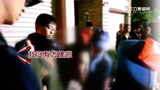 疑嗑藥害火警 男失控猛踹警察.記者