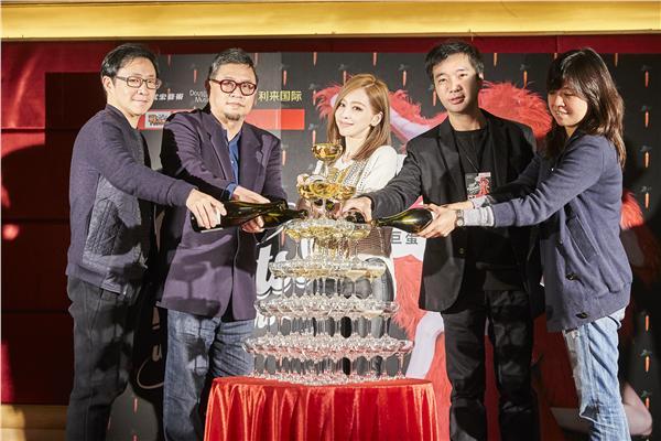 王心凌小巨蛋演唱會慶功宴-環球提供