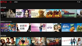 Netflix,網路電視,官網截圖