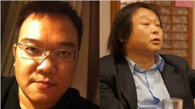 洪智坤、王世堅臉書