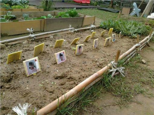 菜園,幼稚園,墓碑▲圖/翻攝自爆料公社臉書