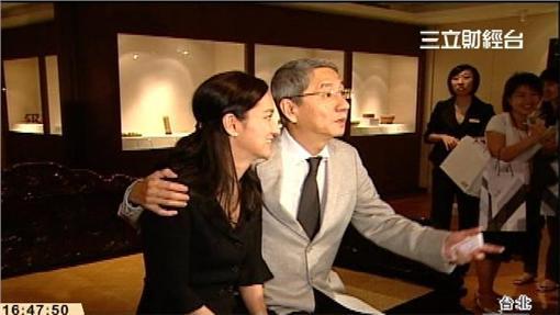 蔡辰洋與妻子賴英里.寒舍艾麗(資料照)