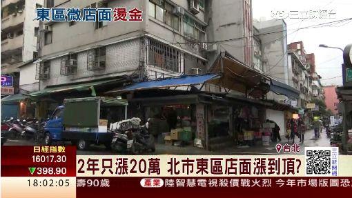 東區天價微店面 單坪390萬竟然是菜販