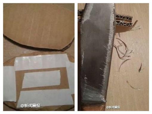紙板雞排-圖/翻攝自《新聞晨報》