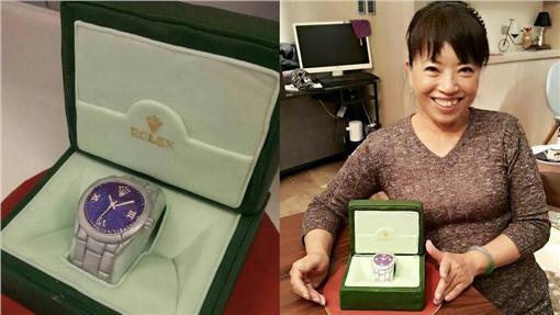 蔡依林送給媽媽名錶蛋糕