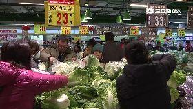 吃鍋菜價漲1200