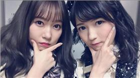 AKB48,多田愛佳,渡邊麻友,公演,相遇,合照,親密,同期,手勢 渡邊麻友推特 https://twitter.com/karaage_mayu?lang=zh-tw