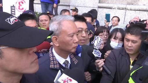 """魏應充二審出庭 抗議聲嗆""""頂新快點倒"""""""