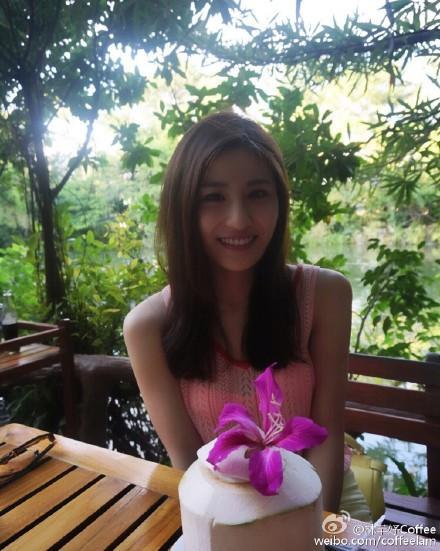 林芊妤,度假,東南亞,避寒,比基尼,瑜珈,寒流 林芊妤微博 http://tw.weibo.com/coffeelam