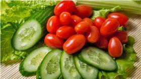 治療面癱蔬果-示意圖/達志影像