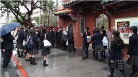 櫻花妹,日本,學生 圖/台北市觀光局提供