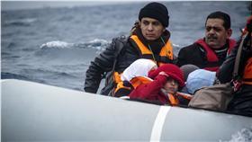 難民船沉船(圖/美聯社/達志影像)