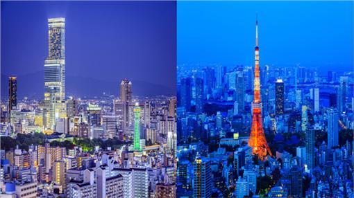 ▲大阪和東京(圖/shutterstock/達志影像)